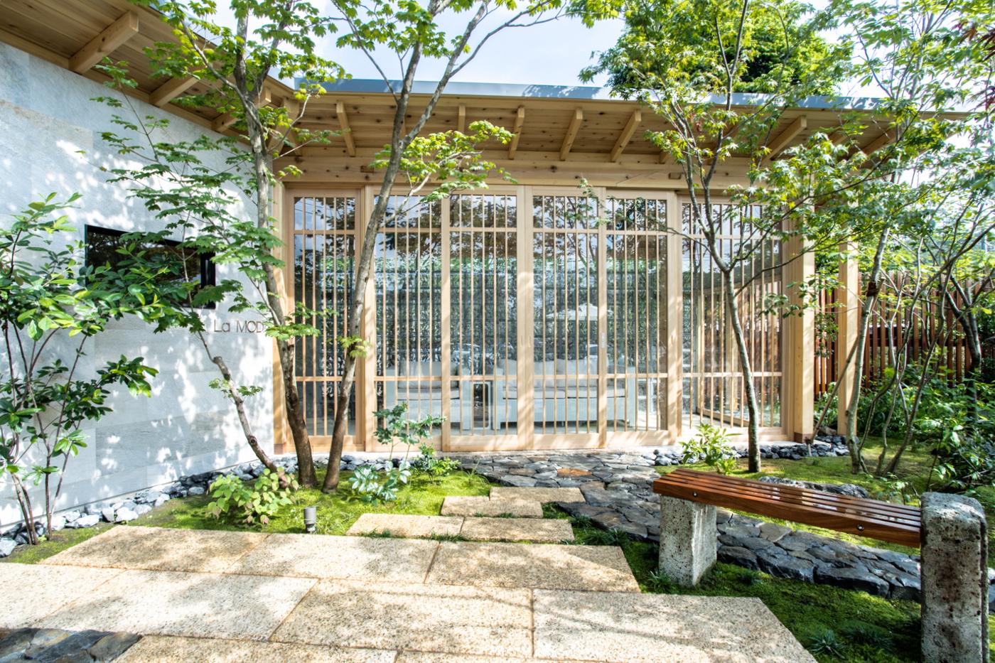 遼有堂様 庭園施工デザインの写真撮影